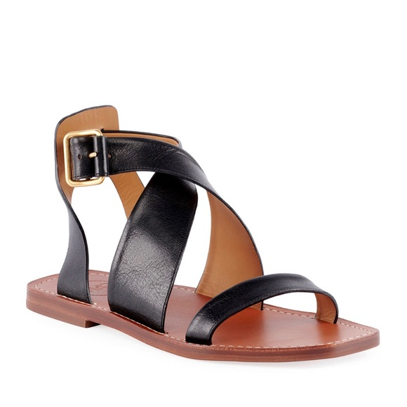 Chloe Shoes | Chloe Nib Virginia Black